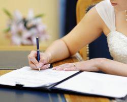 Документы для подачи заявления на регистрацию брака